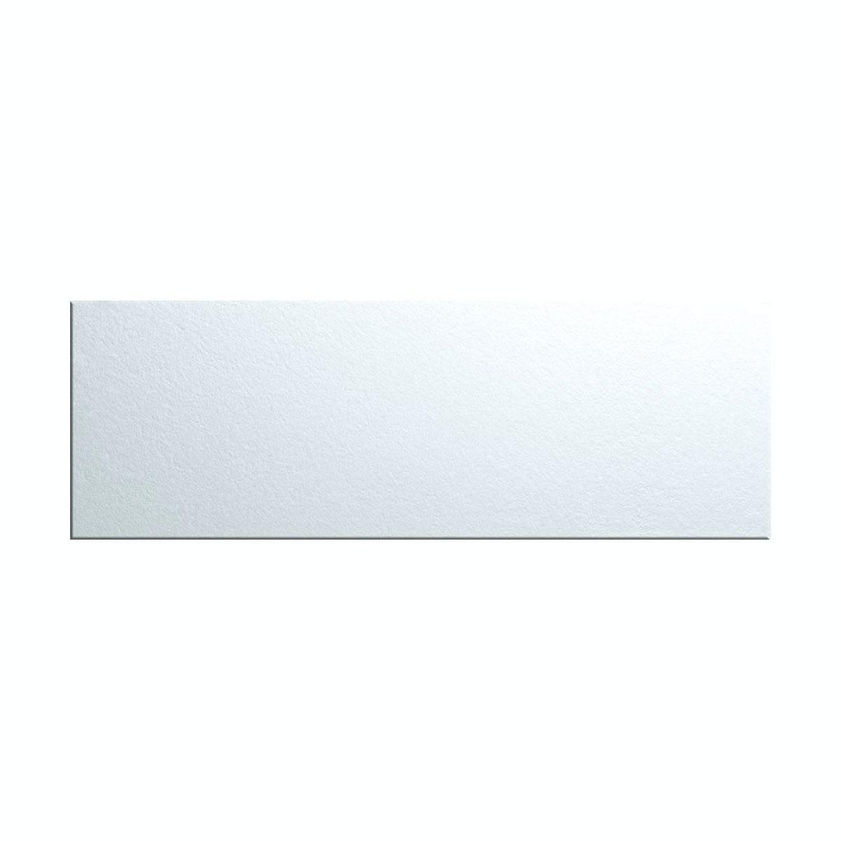 British Ceramic Tile glass silver tile 148mm x 448mm - Box of 5