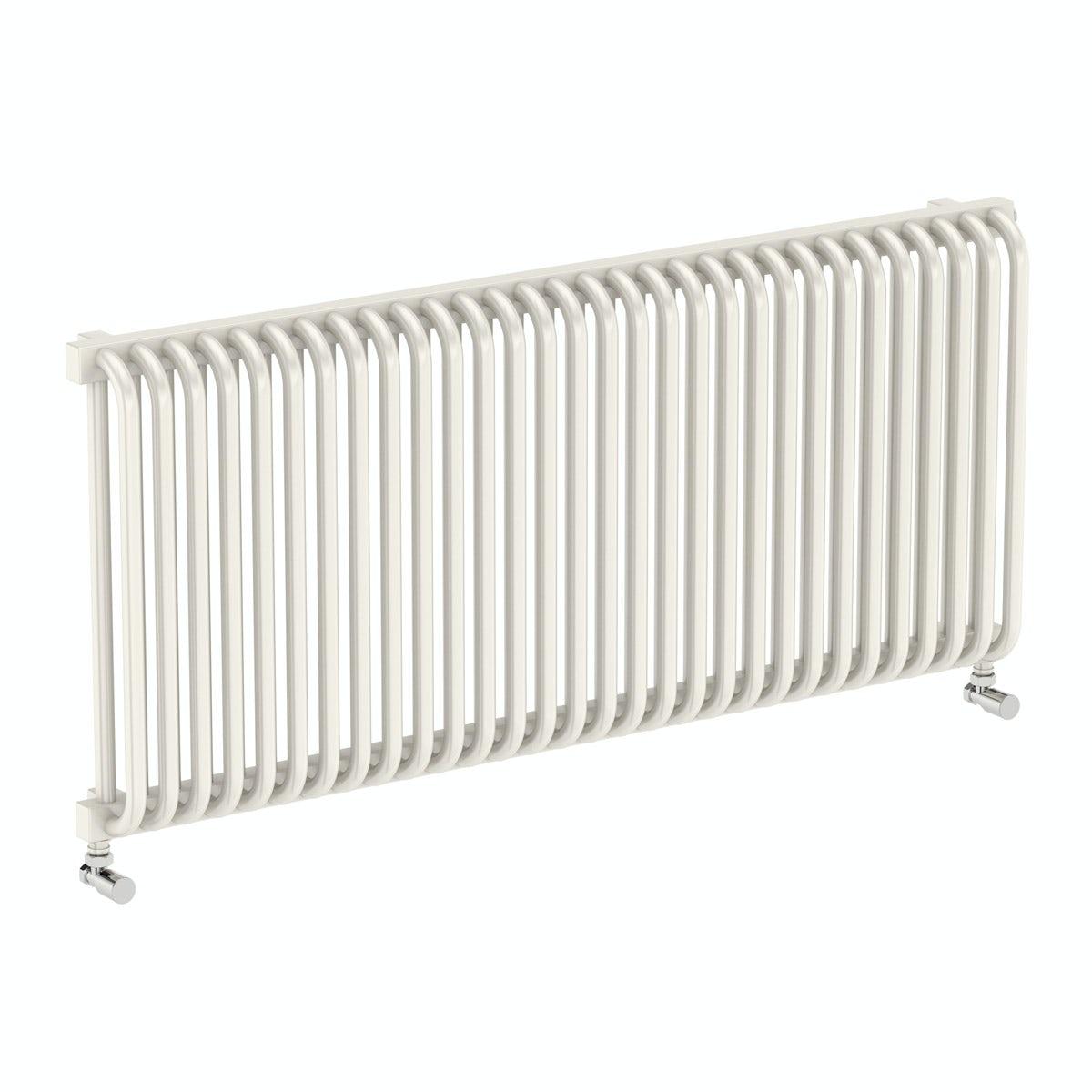 Terma Delfin soft white horizontal radiator 540 x 1220
