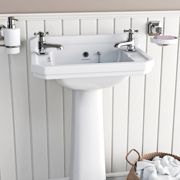 The Bath Co. Camberley basin pillar taps