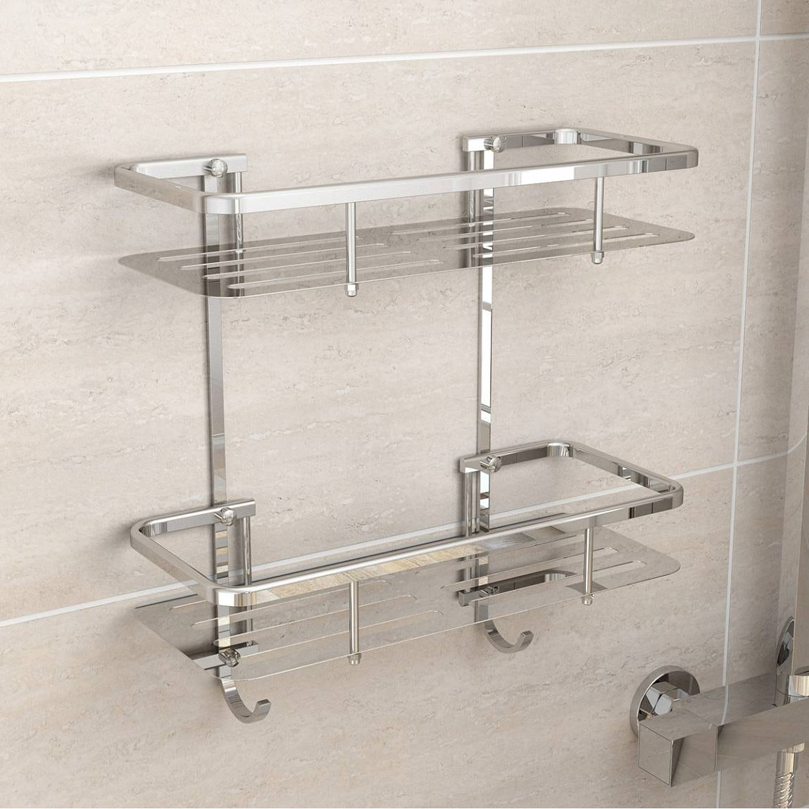 ... Options Brass Wall Mounted Shower Tidy ...