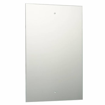 Rectangular Bevelled Edge Drilled Mirror 45x30cm