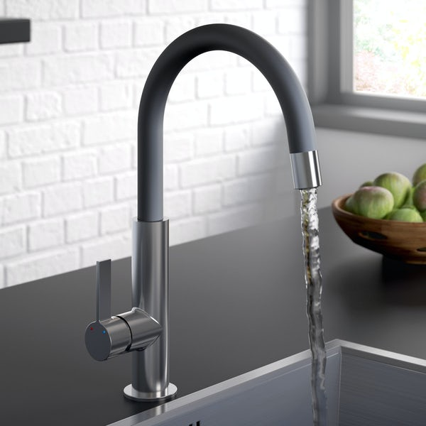 Bristan Melba black kitchen tap