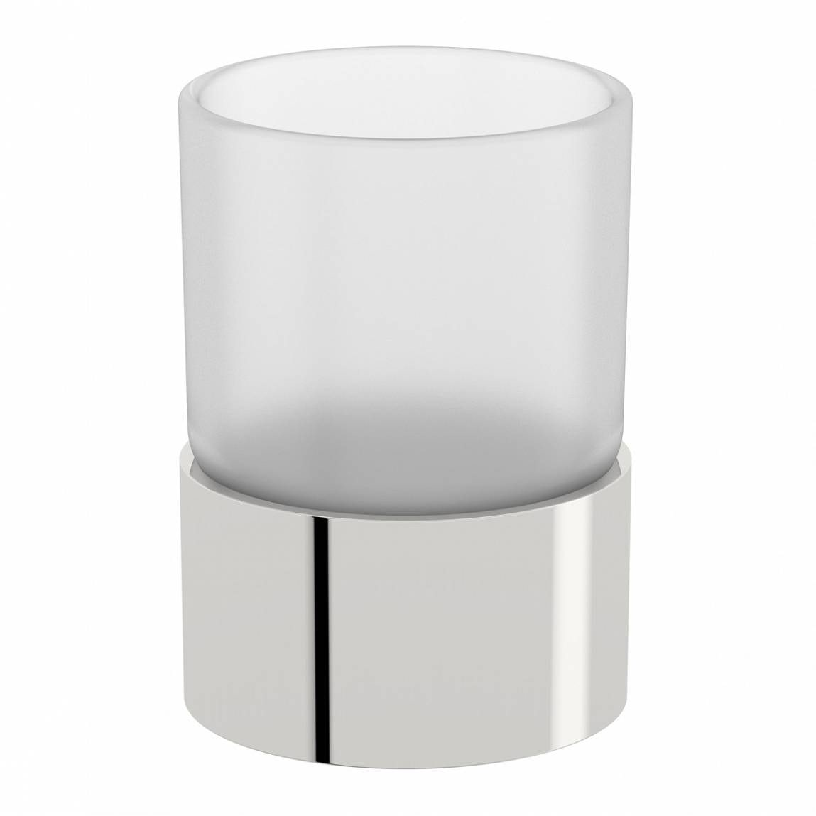 Orchard Options freestanding frosted glass tumbler