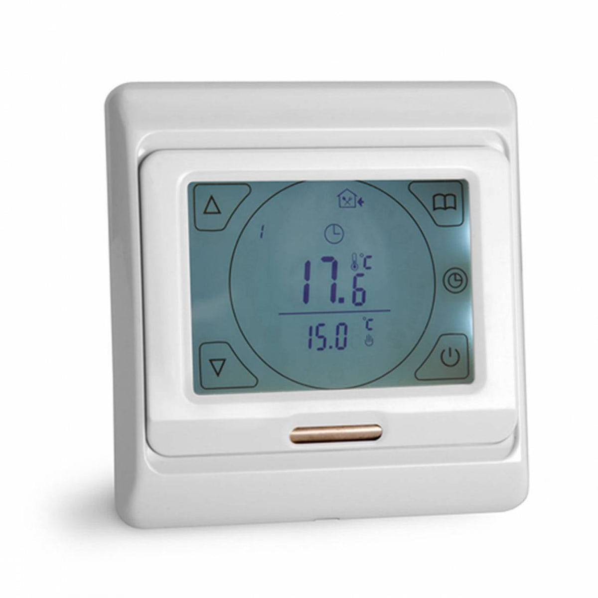 touch screen thermostat. Black Bedroom Furniture Sets. Home Design Ideas
