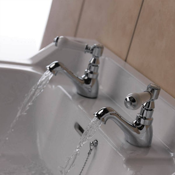 Winchester Basin Tap and Bath Shower Mixer with Standpipe Pack