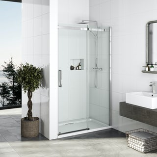 Elite 10mm frameless sliding door 1200mm