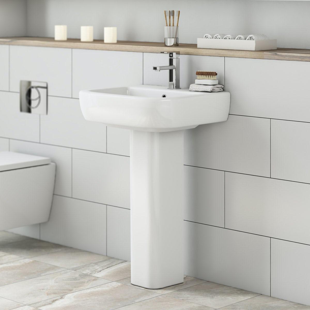 Mode Ellis full pedestal basin