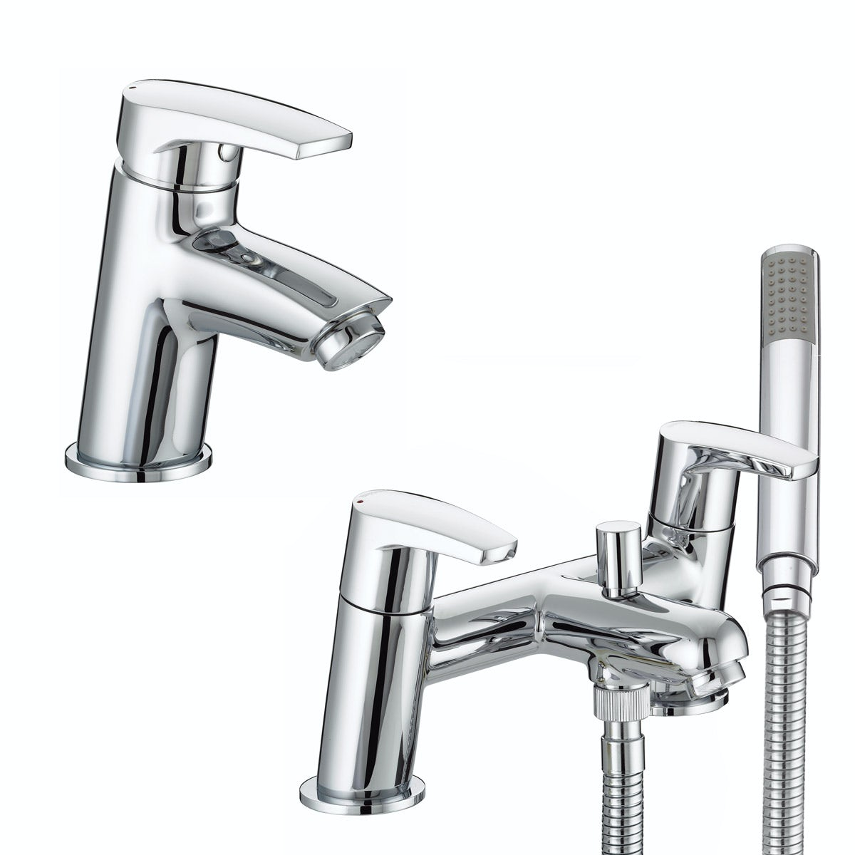 Bristan Orta basin and bath shower mixer tap pack
