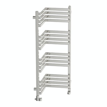 Terma Incorner chrome effect heated towel rail 1005 x 350
