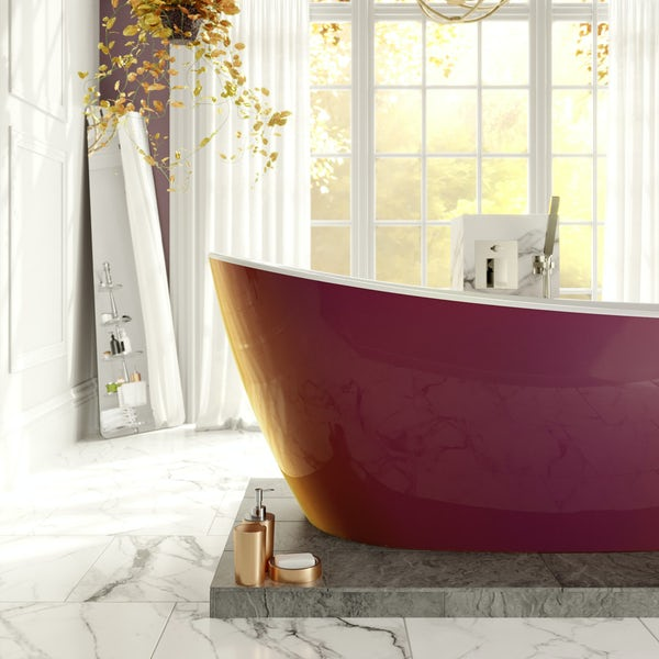 Belle de Louvain Camesi bath