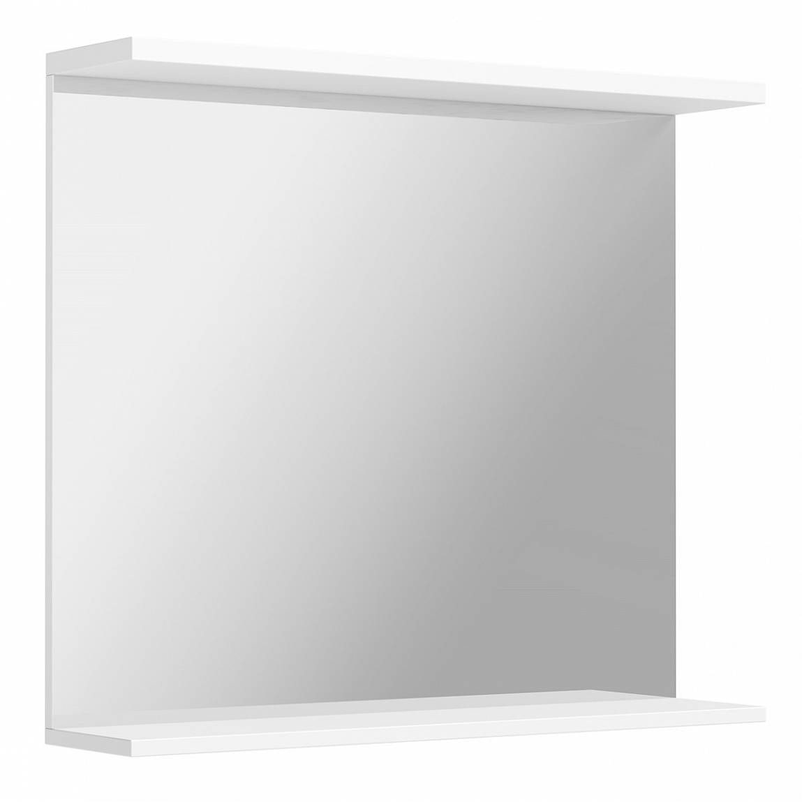 Orchard Florence white bathroom mirror 850mm