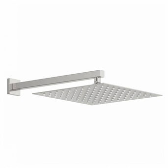 Arcus 300mm Shower Head & Square Wall Arm