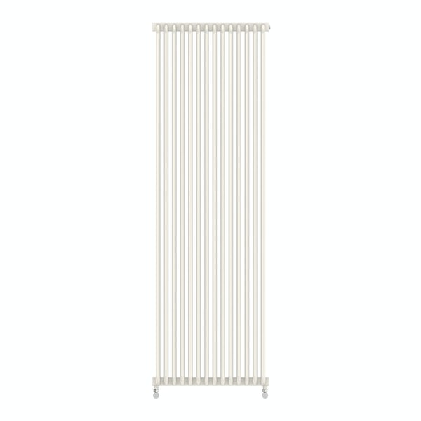 Delfin soft white vertical radiator 1800 x 500
