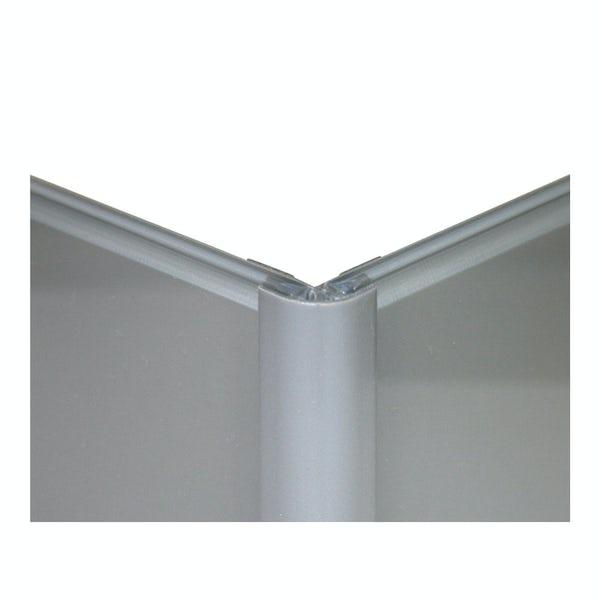 Zenolite plus matt ash colour matched external corner joint 250mm