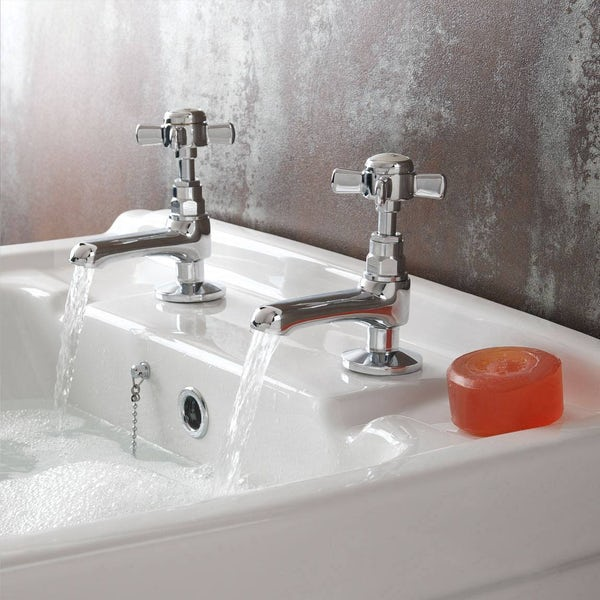 Dulwich Basin Tap and Bath Shower Mixer Pack