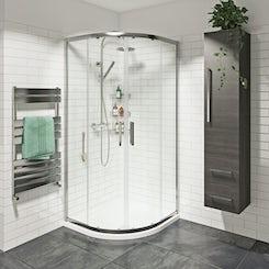 Mode premium 8mm easy clean quadrant shower enclosure
