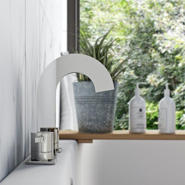 Harrison 3 tap hole bath mixer tap