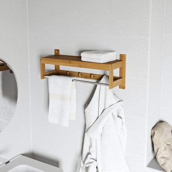Orchard Bamboo towel shelf