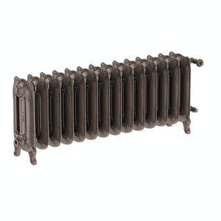 Oxford russet freestanding cast iron radiator 470 x 1180
