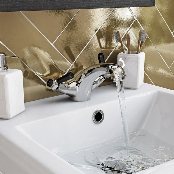 The Bath Co. Beaumont lever basin mixer tap offer pack