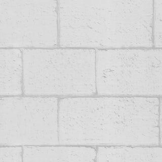 Graham & Brown Breezeblock white wallpaper