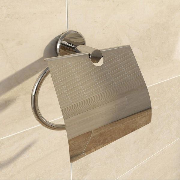 Matrix Toilet Roll Holder