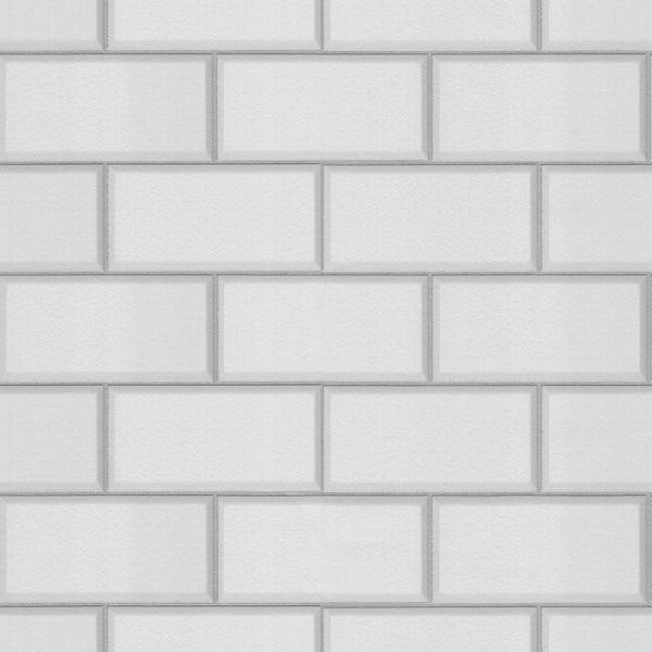 Ceramica Subway Tile - White