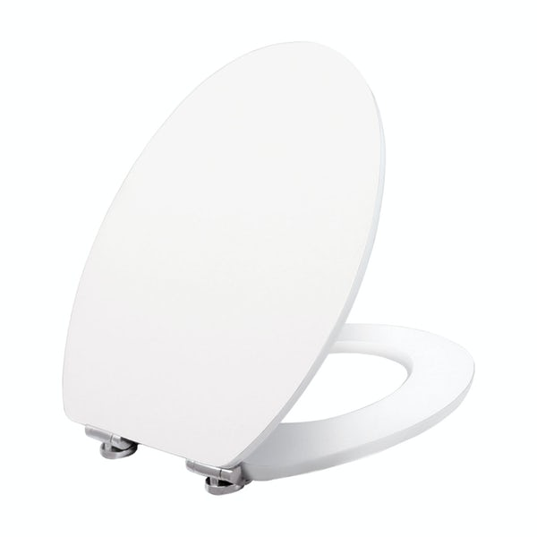 Celmac Wirquin luxury lacquered soft close wooden toilet seat