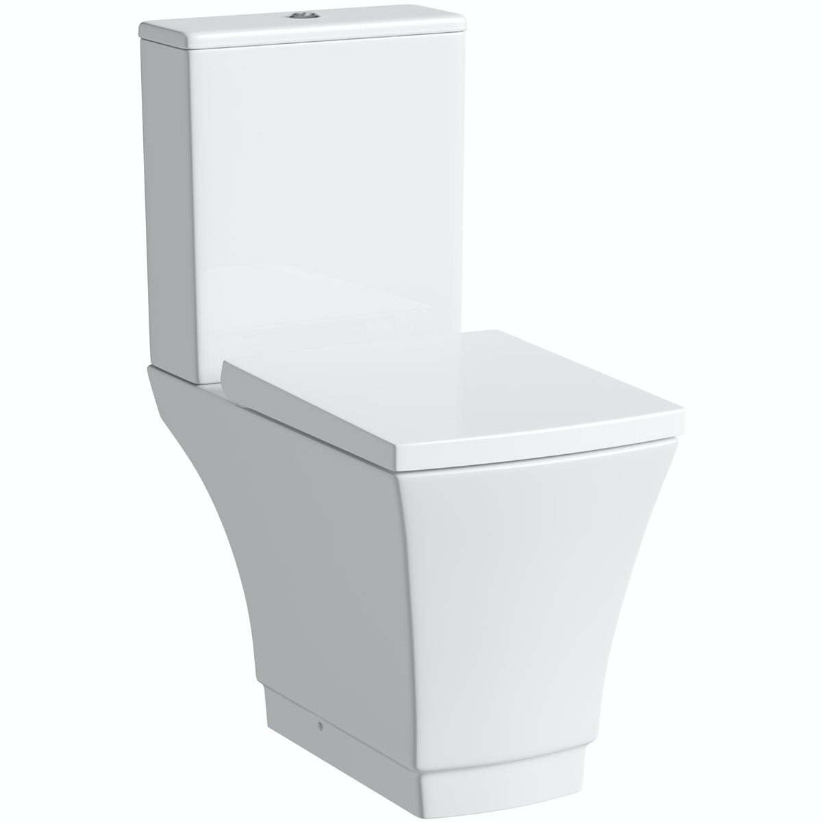 Mode Austin close coupled toilet with soft close seat with pan connector