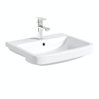 Carter semi recessed basin 550mm