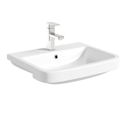Carter semi recessed basin 550mm