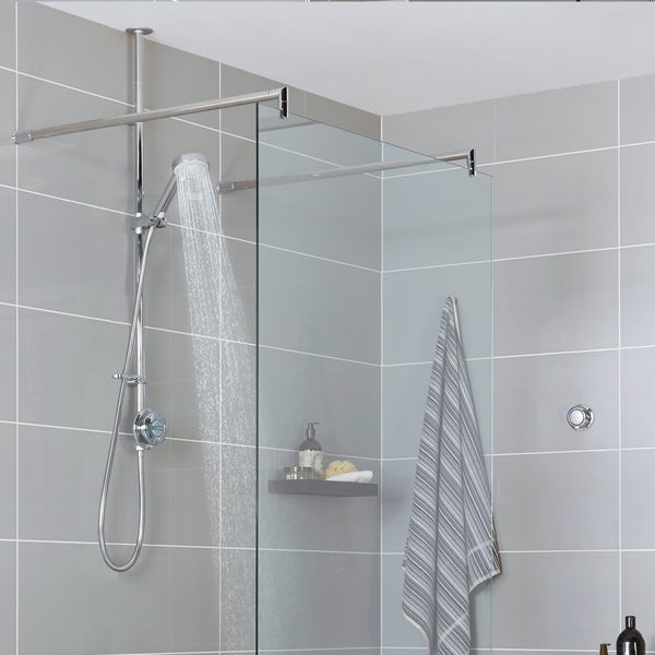 Aqualisa quartz exposed digital shower pumped