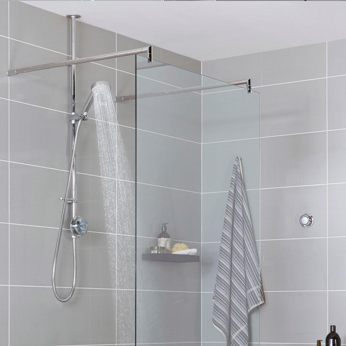 Aqualisa Quartz Exposed Digital Shower Pumped | VictoriaPlum.com
