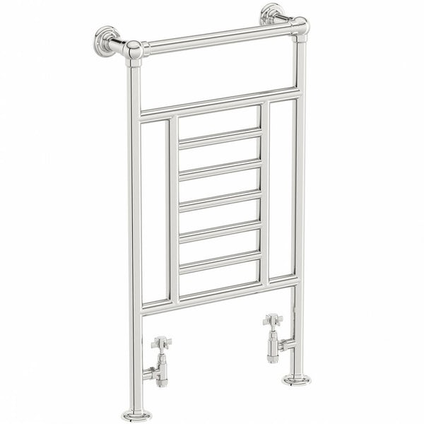 Buckingham Heated Towel Rail 914 x 535