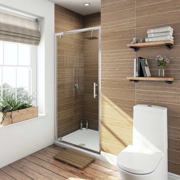 Orchard 6mm pivot hinge shower door
