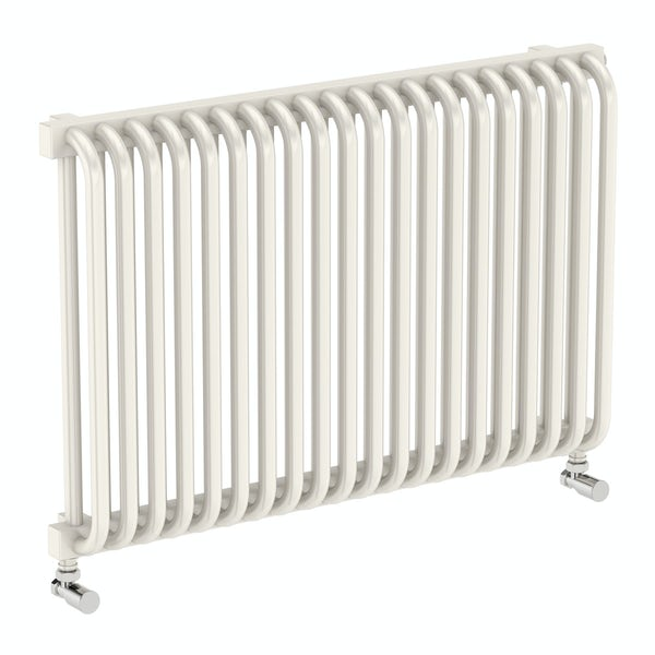 Delfin soft white horizontal radiator 540 x 820