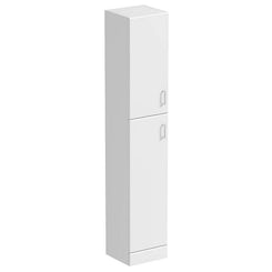 Sienna white tall storage unit offer pack