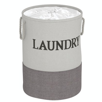 Showerdrape Laya laundry hamper grey