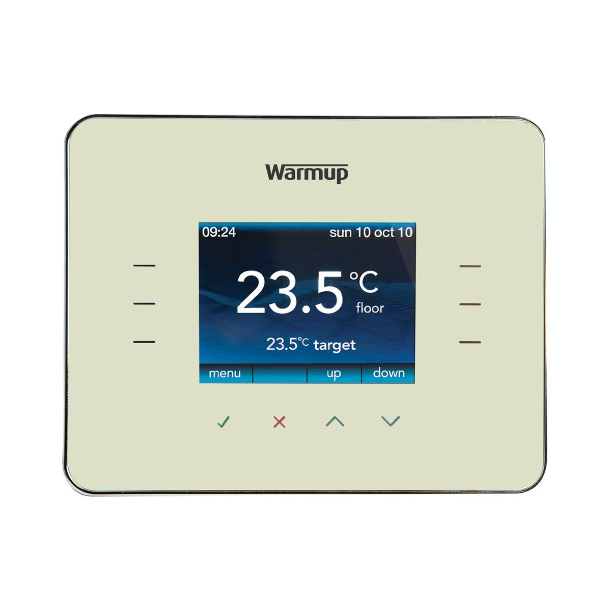 Warmup 3iE underfloor heating thermostat classic cream