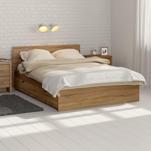 London Oak King Size Bed