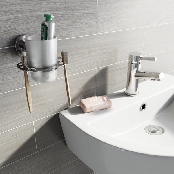 Orchard Wharfe round master bathroom 6 piece accessory set