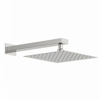 Arcus 250mm Shower Head & Rectangular Wall Arm