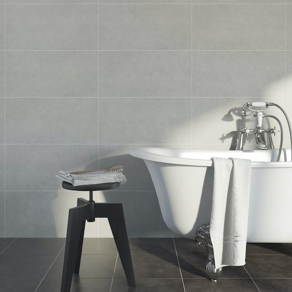 British Ceramic Tile Kaolin porcelain sand multiuse 310mm x 620mm