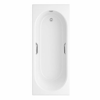 Orchard Ealing single ended bath 1700 x 700 with hand grips offer pack