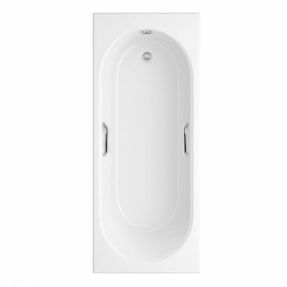 Orchard Ealing single ended bath 1700 x 700 with hand grips