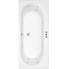 Image of Islington 1800 x 800 Double End Whirlpool Bath + Waste