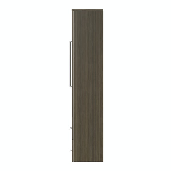 Wye walnut wall cabinet