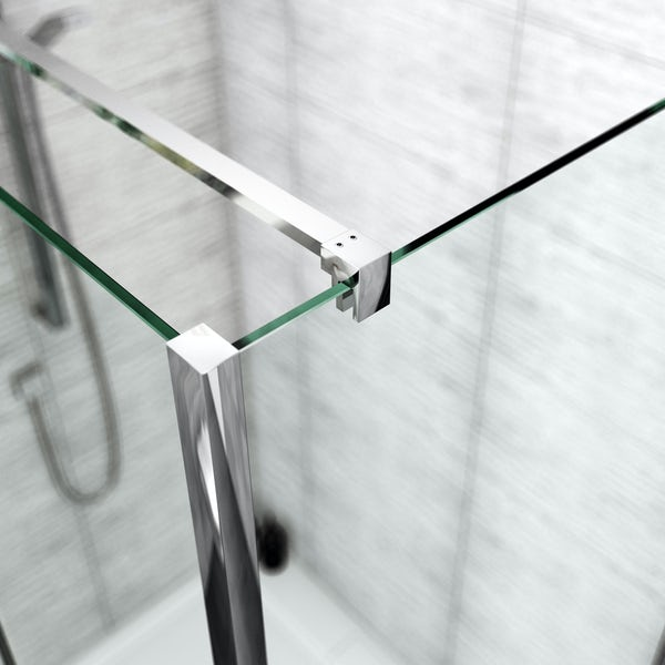 Mode Carter premium 8mm easy clean right handed shower enclosure