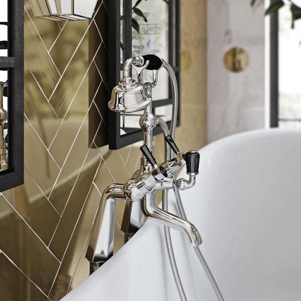 The Bath Co. Beaumont lever bath shower mixer tap offer pack