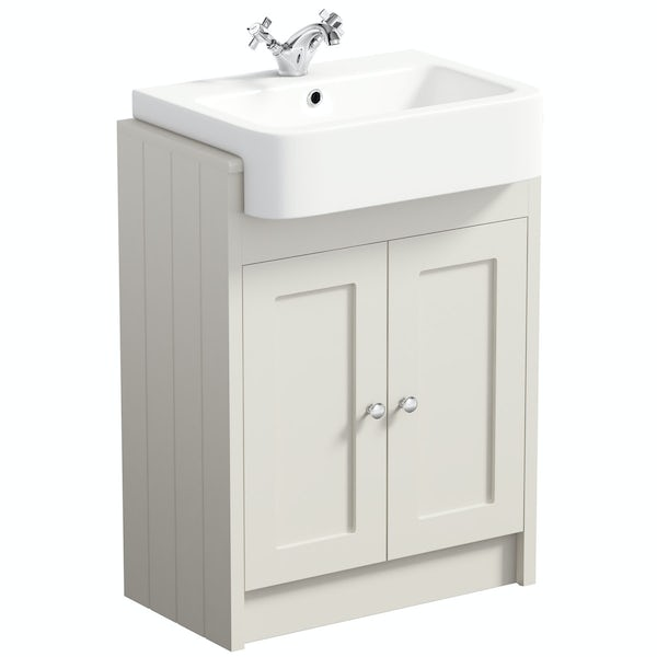 The Bath Co. Dulwich stone ivory furniture package
